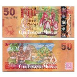 50 Dollars Fidji 2012