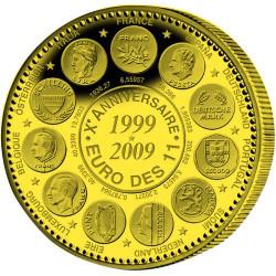2009 - 10 ans de l'Euro Parité - Bronze