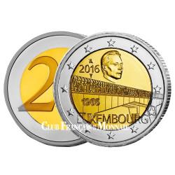 2 Euro Luxembourg 2016 - 50 ans de l'inauguration du Pont  Grande-Duchesse Charlotte