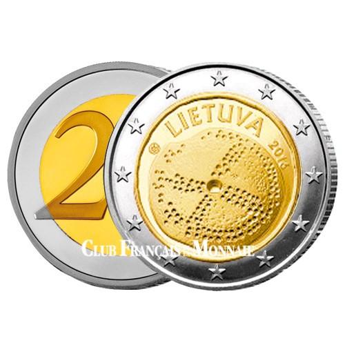 2 Euro Lituanie 2016 - Culture Baltique