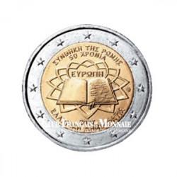 2007 - Grèce - 2 Euros commémorative 50 ans du Traité de Rome