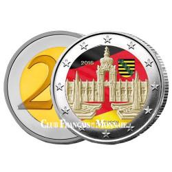 2 Euro Allemagne 2016 - Palais Zwinger - Land de Saxe