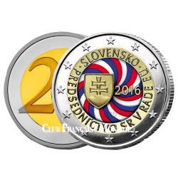 2 Euro Slovaquie 2016 - Présidence de l'Union Européenne