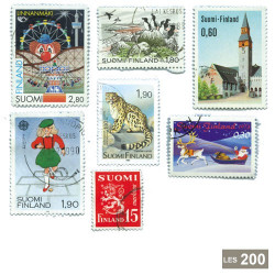 200 timbres Finlande
