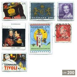200 timbres Danemark