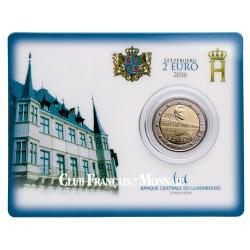 2 Euro Luxembourg BU 2016 - 50 ans de l'inauguration du pont Grande-Duchesse Charlotte