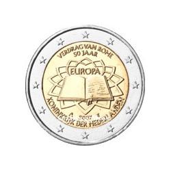 2007 - Pays-Bas - 2 Euros commémorative 50 ans du Traité de Rome