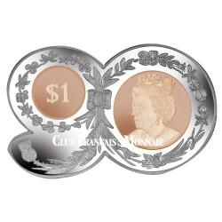 1 Dollar 90 ans de la Reine BU 2016 - 90 ans de la Reine Elizabeth II