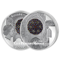 """10 Dollars Argent BE 2016 """"La Seu"""" - Cathédrale Palma de Majorque"""