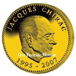 Médaille Jacques Chirac