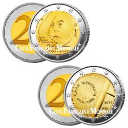 Lot des 2 x 2 Euro Finlande 2014