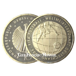 10 Euro Argent Allemagne BU 2005 - Fifa