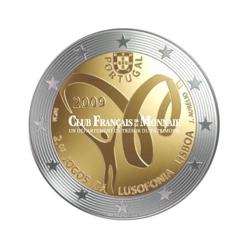 2009 - Portugal - 2 Euros commémorative Jeux de la Lusophonie