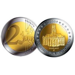 2009 - Allemagne - 2 Euros La Sarre