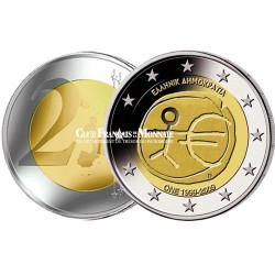2009 - Grèce - 2 Euro commémorative 10 ans de l'Union Economique et Monétaire