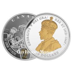 20 Dollars Argent Canada BE 2016 - Bataille de la Somme