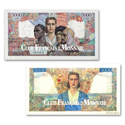 5 000 Francs Union Française