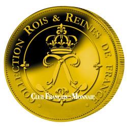 Lot des 6 médailles Rois de France