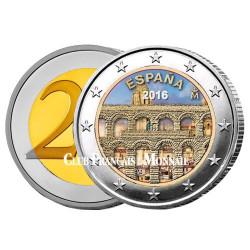 2 Euro Espagne 2016 - Aqueduc de Ségovie