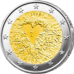 2008 - Finlande - 2 Euros 60 ans de la déclaration Universelle des Droits de l'Homme