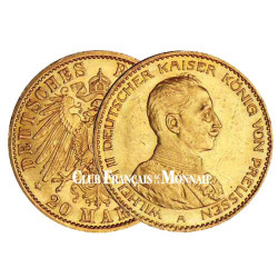 20 Marks Guillaume II - Allemagne 1913