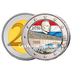 2 Euro Luxembourg 2016 colorisée - 50 ans de l'inauguration du Pont Grande-Duchesse Charlotte