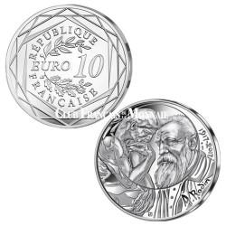 10 Euro Argent France 2017 Rodin