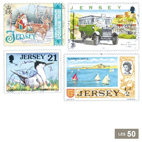 50 timbres Jersey