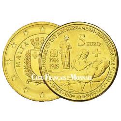 5 Euro Malte 2014 - 100 ans de la première guerre mondiale