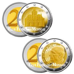 Lot des 2 x 2 Euro Grèce 2016