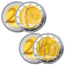 Lot des 2 x 2 Euro Grèce 2013