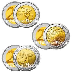 Lot des  3 x 2 Euro 2004