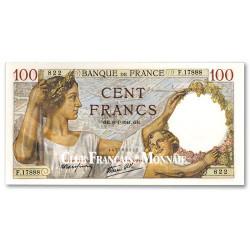 Billet 100 Francs Sully