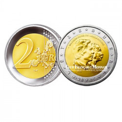 2005 - Luxembourg - 2 Euros commémoratives Grand Duc Henri et Grand Duc Adolphe