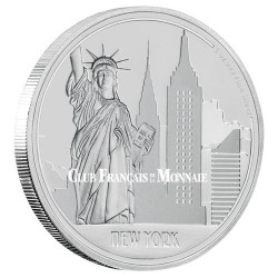 2 Dollars Argent BE 2017 - New York