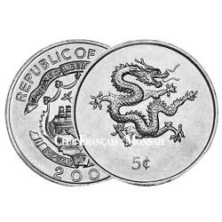 5 Cent Liberia 2000