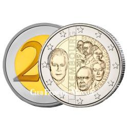 2 Euro Luxembourg 2015 - 125 ans de la dynastie Nassau-Weilbourg