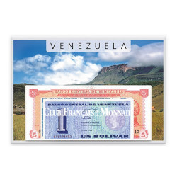 Lot de 10 billets Venezuela 1989-1998