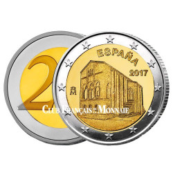 2 Euro Espagne 2017 - Église Santa María - Asturies