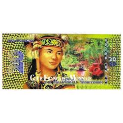 Billet de 20 Francs Equatoriaux - Bornéo