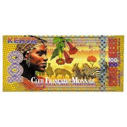 Billet de 100 Francs Equatoriaux - Kenya