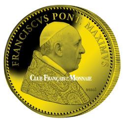Pape François doré
