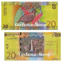 Billet 20 Tala Samoa 2008