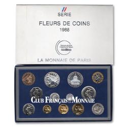 1988 - France - Série FDC