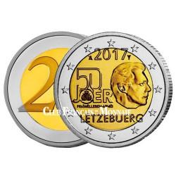 2 Euro Luxembourg 2017 - 50 ans du service militaire volontaire
