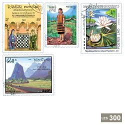300 timbres Laos