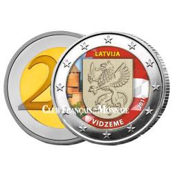 2 Euro Lettonie 2016 - Vidzeme