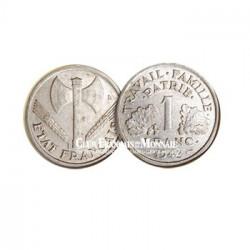 1942 - 1 Franc Etat Français