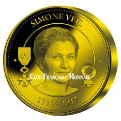 Simone Veil Or BE