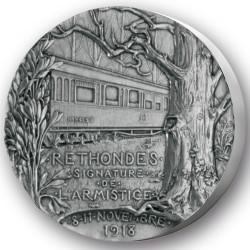 Armistice de Rethondes - Bronze argenté